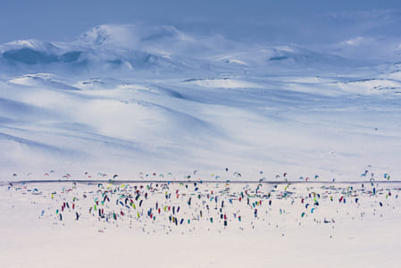 Competitors Perform During the Red Bull Ragnarok at Hardangervidda in Haugastol, Norway. by Red Bull Photography on 500px