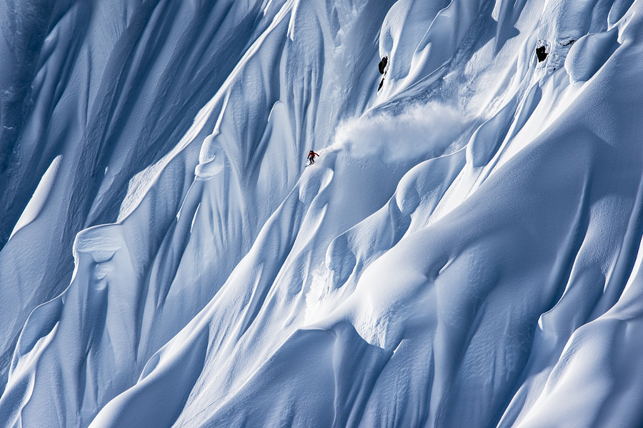 Fabian Lentsch Skiing in Haines, AK, USA by Red Bull Photography on 500px.com