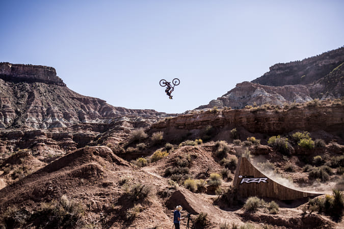 Kurt Sorge competing at Red Bull Rampage in Utah, United States of America.  by Red Bull Photography on 500px