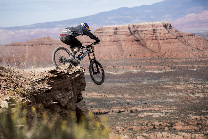 Thomas Genon Competes During the Red Bull Rampage in Virgin, Utah, USA.  by Red Bull Photography on 500px
