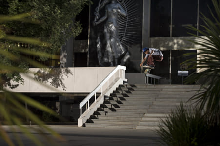 Gavin Moses Adams Performs a Kickflip During the Grass Roots Skate Tour in Bloemfontein, South... by Red Bull Photography on 500px