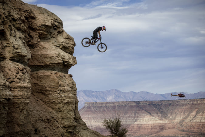 Andreu Lacondeguy at Red Bull Rampage in Utah, United States of America.  by Red Bull Photography on 500px