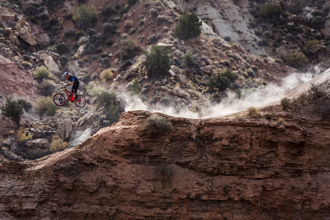 Paul Basagoitia competing at Red Bull Rampage in Utah, United States of America. by Red Bull Photography on 500px