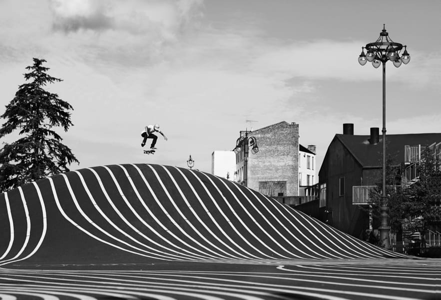 Bjorn Lillesoe skateboarding in Copenhagen, Denmark. by Red Bull Photography on 500px