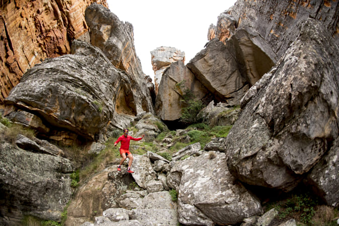Ryan Sandes Running in the Cederberg Mountains, South Africa. by Red Bull Photography on 500px