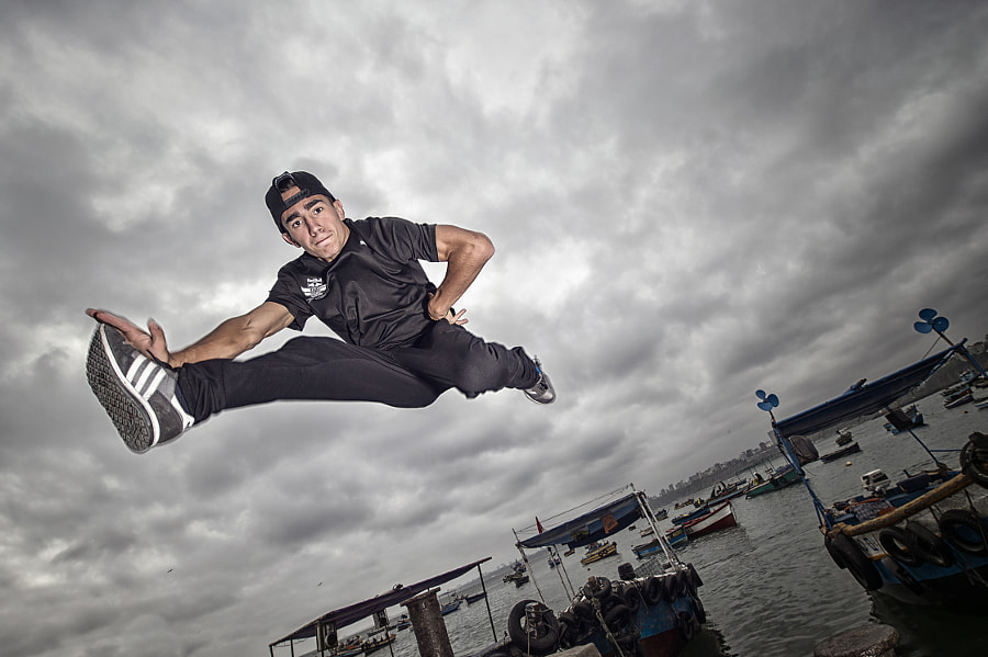 B-Boy Hellstyle in Lima, Portugal. by Red Bull Photography on 500px.com