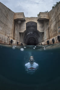 Orlando Duque Dives From Submarine Garage on the Island of Vis in Croatia. by Klassy Goldberg on 500px