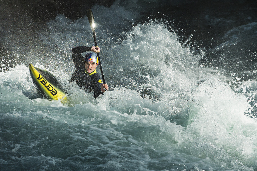 Peter Kauzer Practicing in Tacen, Slovenia by Red Bull Photography on 500px.com