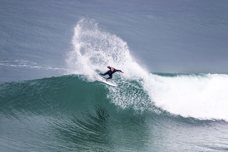 Kelly Slater surfing at Peniche, Portugal. by Red Bull Photography on 500px.com