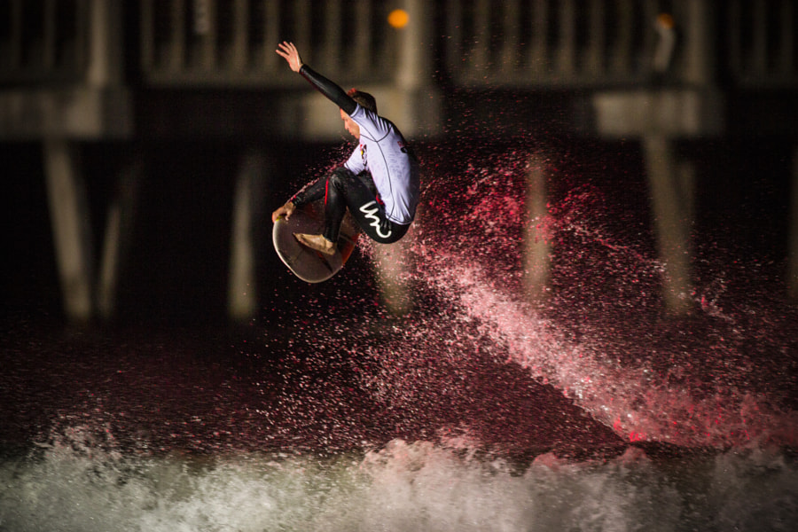 Evan Thompson at Red Bull Night Riders in Jacksonville Beach, Florida, USA. by Red Bull Photography on 500px.com