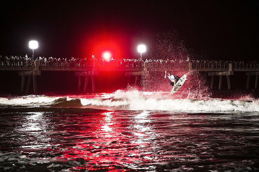 Randy Townsend at Red Bull Night Riders in Jacksonville Beach, Florida, USA. by Red Bull Photography on 500px.com