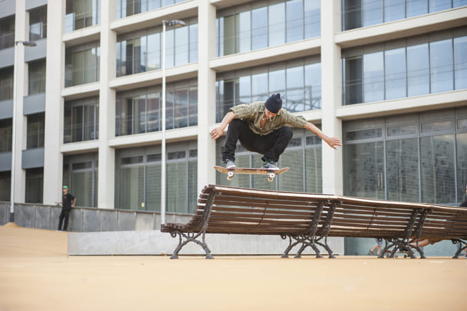 TJ Rodgers During the Making Of The Documentary Smile in Barcelona, Spain. by Red Bull Photography on 500px