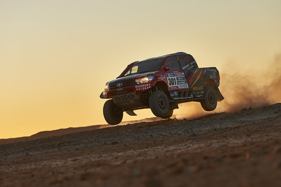 Giniel de Villiers racing in Upington, South Africa. by Red Bull Photography on 500px.com