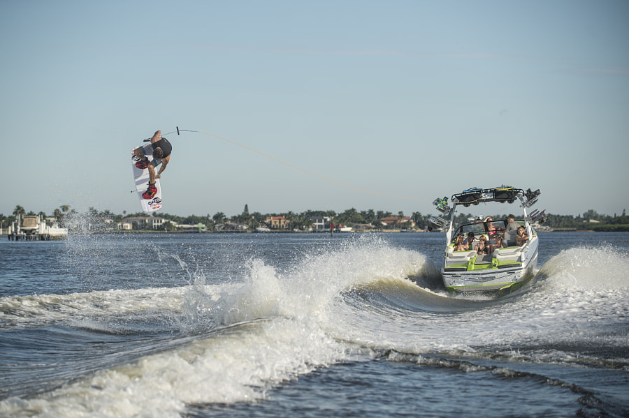 Massimiliano Piffaretti perfoming on lake in Orlando, Florida, USA. by Red Bull Photography on 500px.com