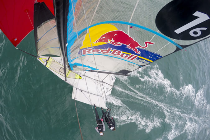 Alex Maloney and Molly Meech sailing in the Watemata Harbour in Auckland, New Zealand.  by Red Bull Photography on 500px