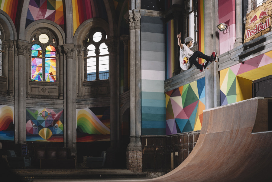 Danny Leon Performs During the Opening of Kaos Temple in La Iglesia Skate in Asturias, Spain. by Red Bull Photography on 500px.com