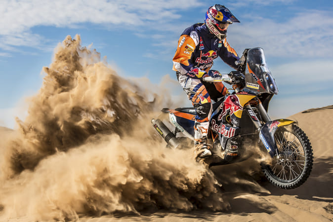 Toby Price performs in Erfoud, Morocco. by Red Bull Photography on 500px