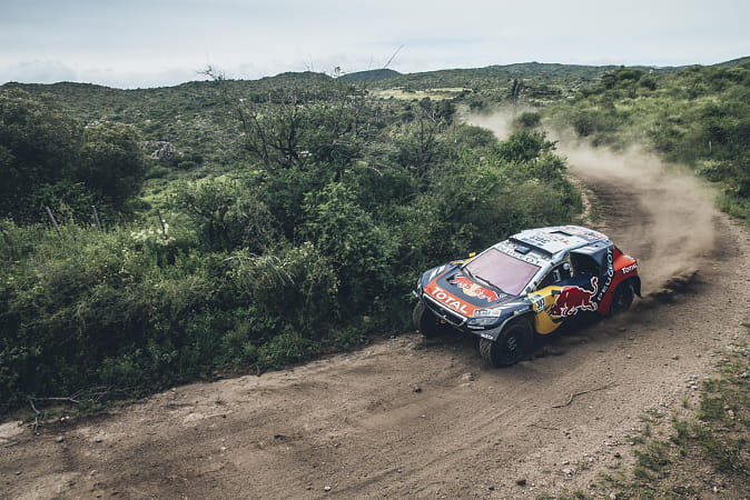 Carlos Sainz racing in the Rally Dakar in Termas de Rio Hondo, Argentina. by Red Bull Photography on 500px