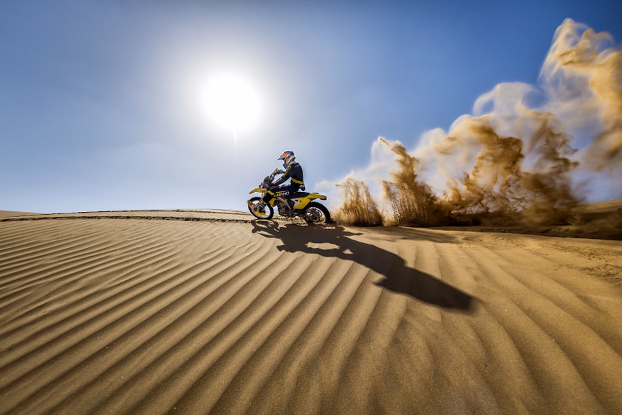 CS Santosh training in Jaisalmer, Rajasthan, India. by Red Bull Photography on 500px.com