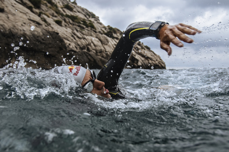 Mario Mola swimming in Mallorca, Spain. by Red Bull Photography on 500px.com