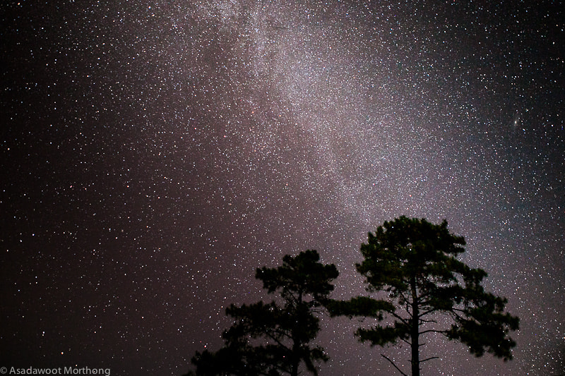 Photograph Milkyway by Asadawoot Morthong on 500px