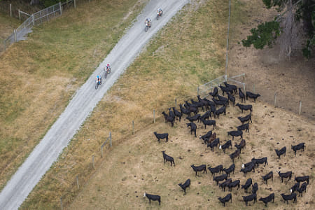Cyclists competing in Red Bull Defiance in Wanaka, New Zealand. by Red Bull Photography on 500px