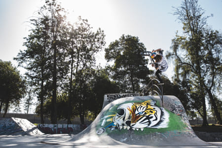 Coco Zurita competiting at O'Higgons Park in Santiago, Chile. by Red Bull Photography on 500px