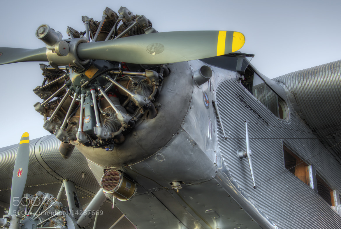 Photograph Ford Tri-Motor Airplane by Richard  Small on 500px