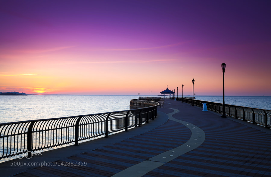 New on 500px fishing pier by anatoliyurb by anatoliyurb for Staten island fishing