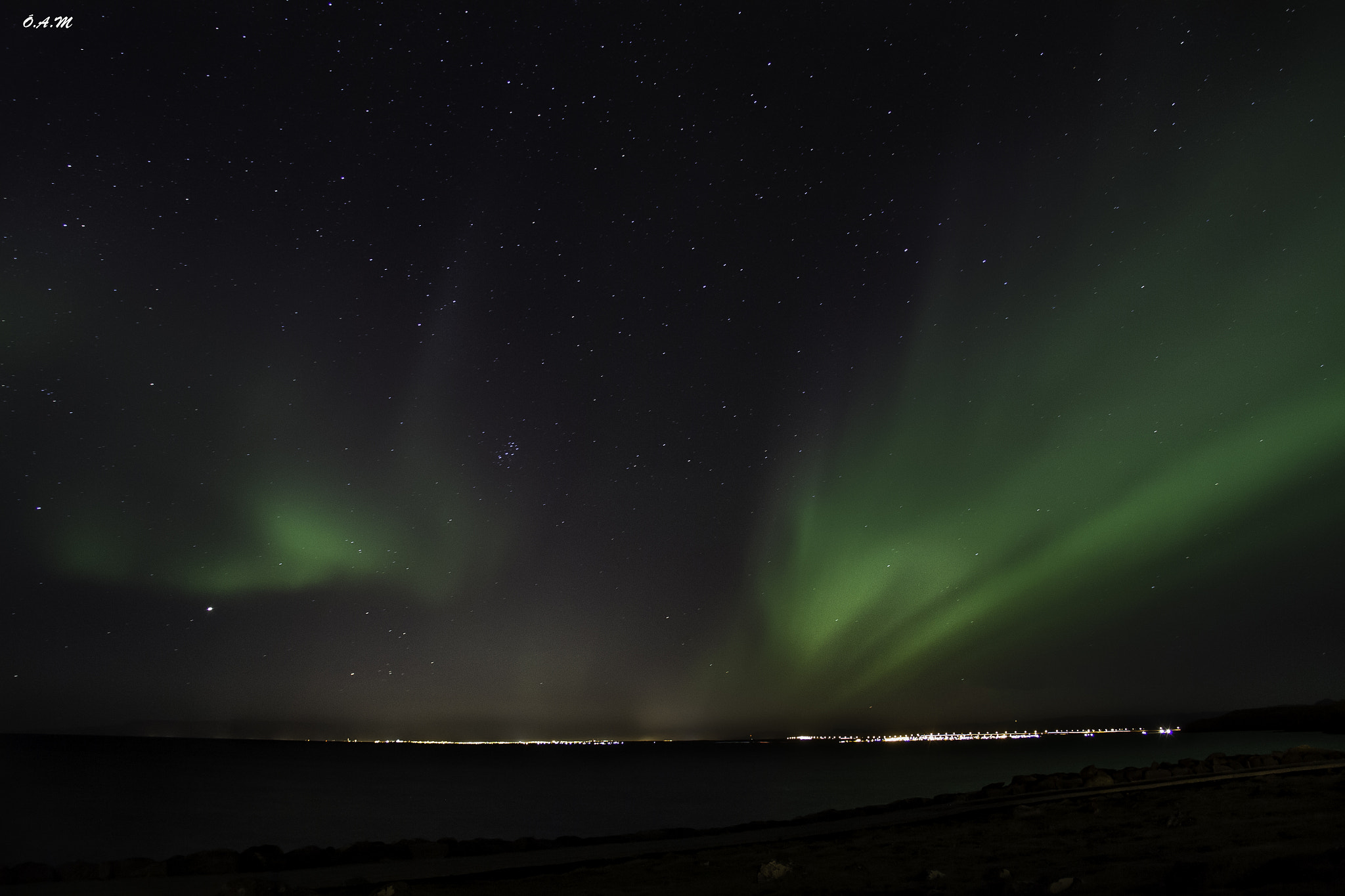 Photograph The northern lights- Iceland by Óli Magg on 500px