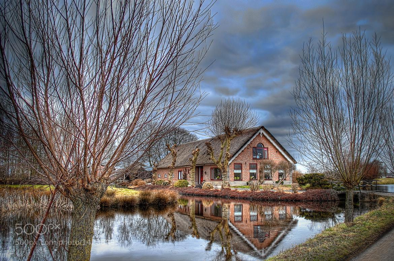 Photograph Reflectionday Dutch House by Ton   lع Jeune on 500px