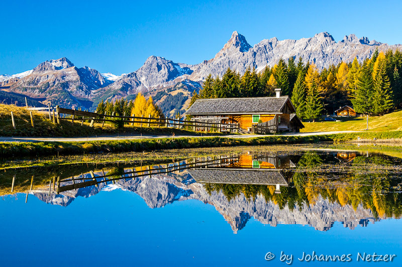 Photograph Mountain Lake at autumn by Johannes Netzer on 500px