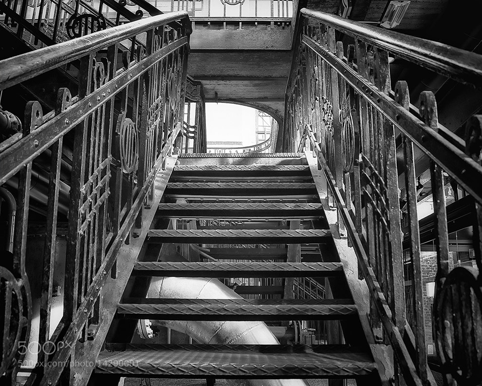 Photograph Classic Old Stairs by Nathalie  on 500px