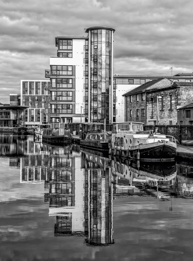 Union canal reflections 2
