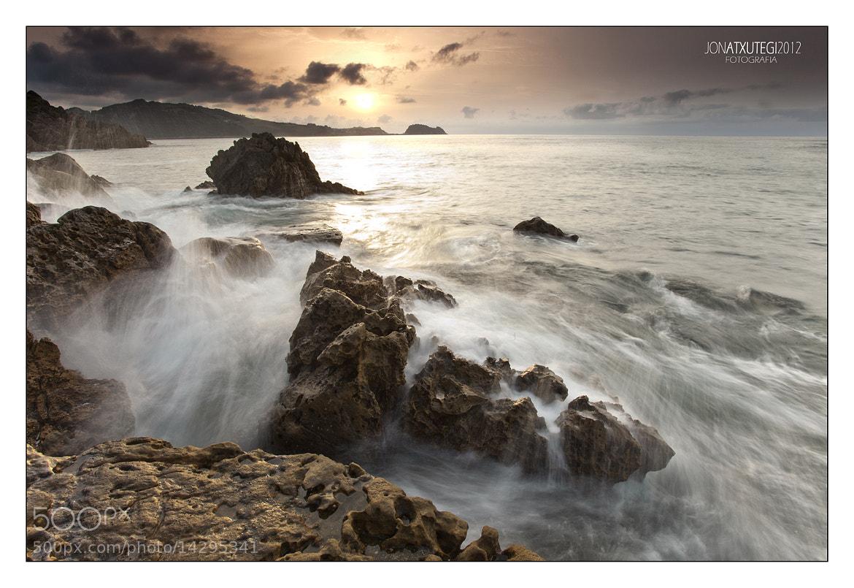 Photograph Wave VS Rock by Jontake . . on 500px