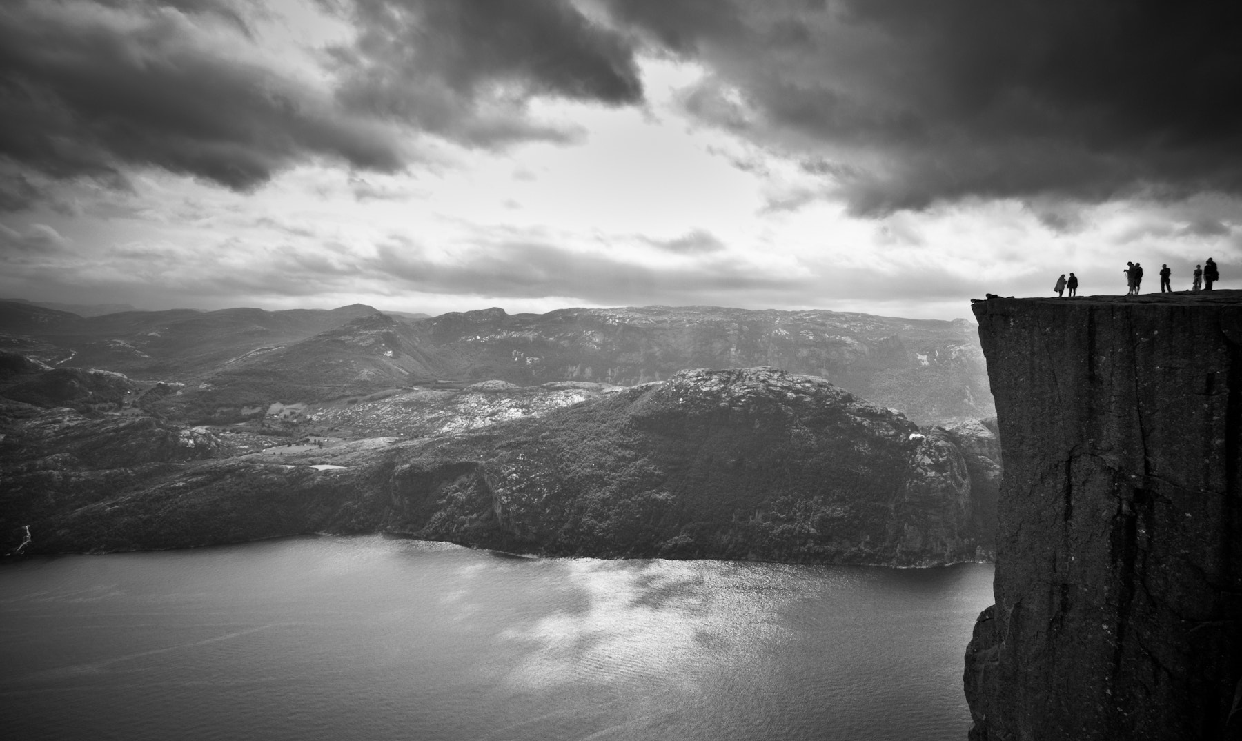 "Photograph Prekeistolen aka ""Pulpit Rock"" by Yanis Ourabah on 500px"