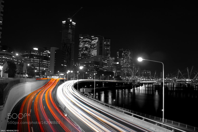 Photograph Brisbane City Lights by Alessandro Renda on 500px