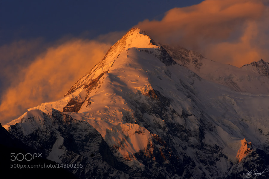 Photograph Mount Rakaposhi 7788M.. by Atif Saeed on 500px