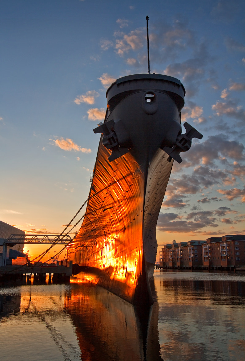 Photograph USS Wisconsin by Lorraine Hudgins on 500px