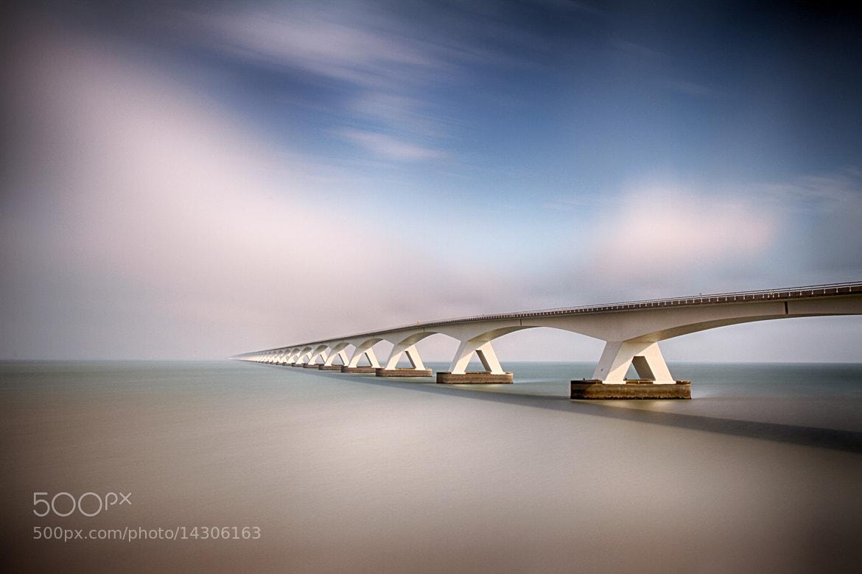 Photograph Zeeland bridge by Kees Smans on 500px