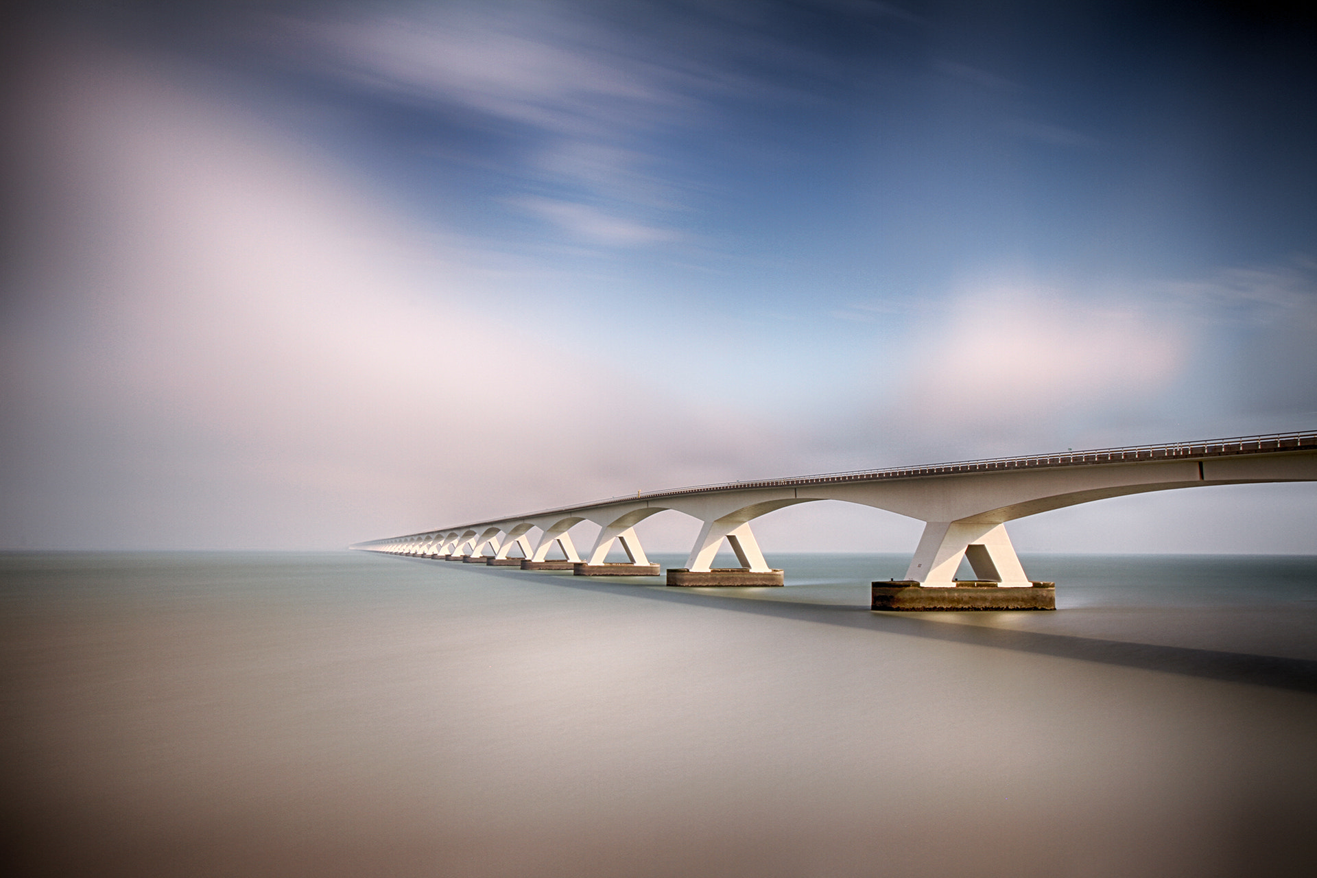 Photograph Zeeland bridge by Kees Smans on 500px
