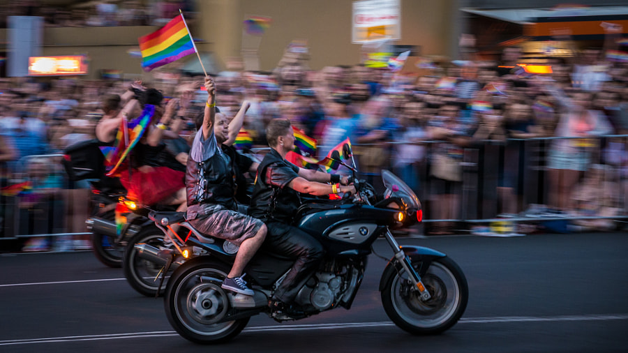 Sydney Mardigras Parade 2016 by Travis Chau on 500px.com