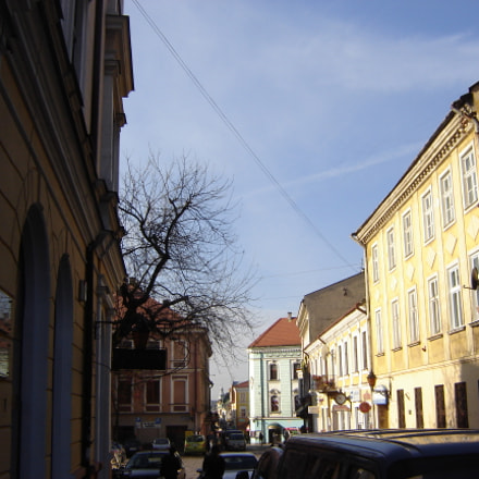 Cathedral Street in Tarnow, Sony DSC-S80