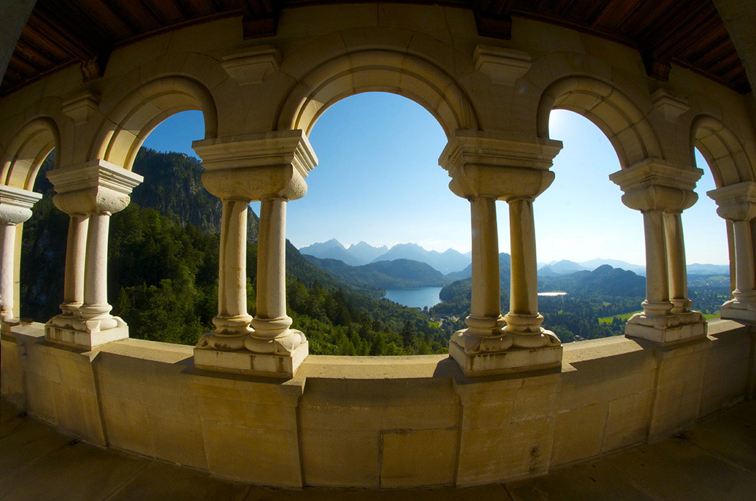 Photograph The View From Neuschwanstein by William McIntosh on 500px