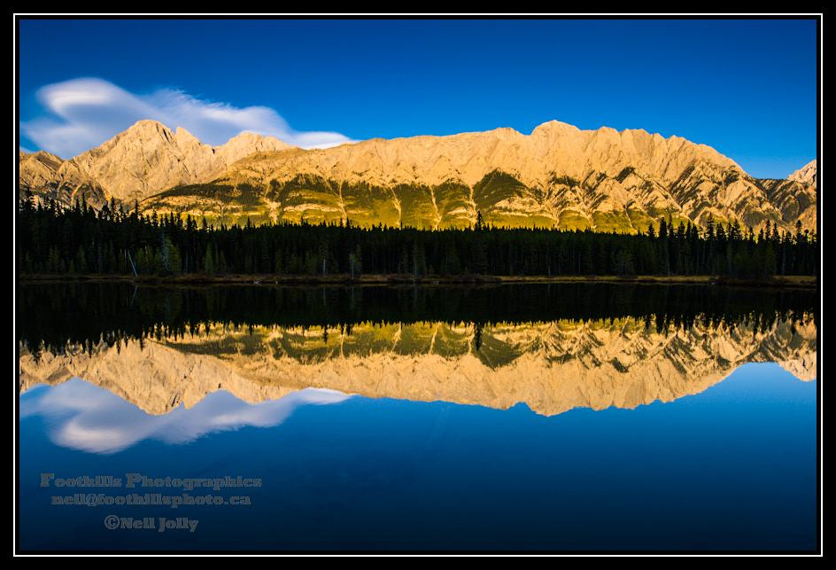 Photograph Reflection Day - Wintour Peak by Neil Jolly on 500px