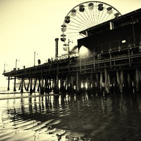 Santa Monica Pier por Tom Sebourn (thomasjsebournphotography) on 500px.com