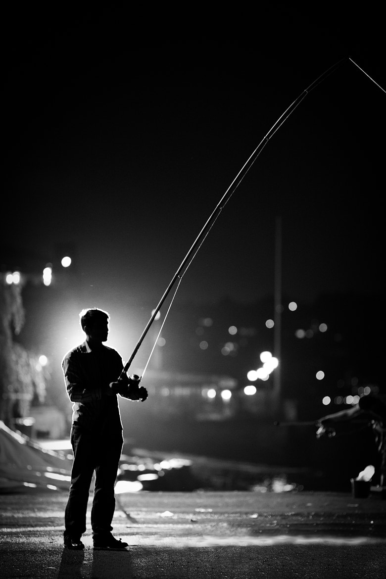 Photograph Midnight fishing... by Muhammed Vefa ARIKAN on 500px