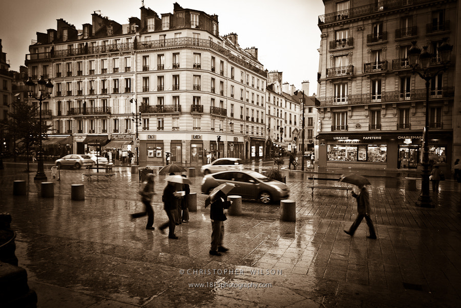 Photograph Rue de Rivoli on a Rainy Day by Christopher Wilson on 500px