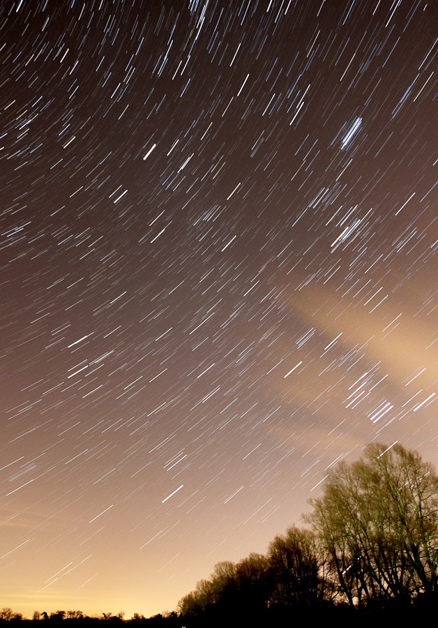 Photograph First Startrail by Aaron Cobb on 500px