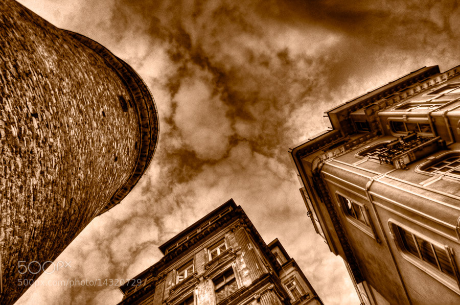 Photograph Three Towers by Aaron Cobb on 500px